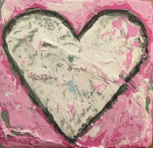 White_Heart_Pink_Background_art_Valentines